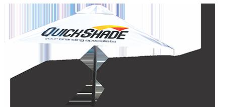 QuickShade Branded Parasol